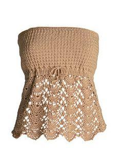 DE MIS MANOS TEJIDOS Y MAS...: Modelos de Poleras a crochet