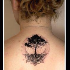 """""""#treeoflife tattoo by @mowgli_artist /// #Equilattera #tattoo #Tattoos #tattooed #tattooartist #tattooart #tattoolife #tattooflash #tattoodesign…"""""""