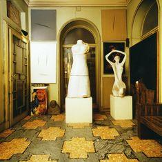 floor.  Villa Necchi Campiglio