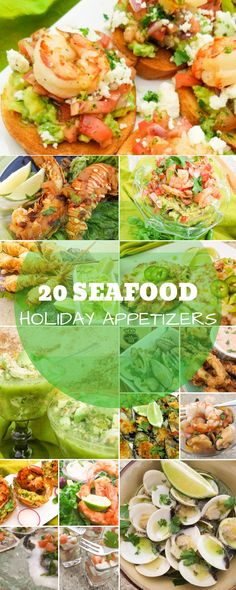 Get inspired this holiday season with these 20 Delicious Mexican Inspired Seafood Holiday Appetizers Find delicious clam shrimp calamari lobster mussels scallop rec. Mini Appetizers, Mexican Appetizers, Appetizers For A Crowd, Seafood Appetizers, Holiday Appetizers, Appetizer Recipes, Holiday Recipes, Dinner Recipes, Seafood Party