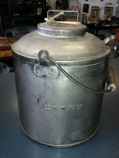 Vintage C O Ry Railroad Train Oil Can with Lid Caboose Water Chesapeake Ohio   eBay