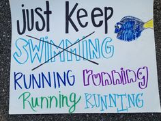 Cute idea for a 5K event!    Twitter / Recent images by @asaHQ