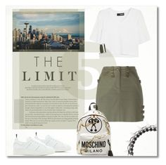 """""""Higher."""" by vigilexi ❤ liked on Polyvore featuring Christian Dior, DKNY, Golden Goose, Louis Vuitton, Moschino and Joomi Lim"""