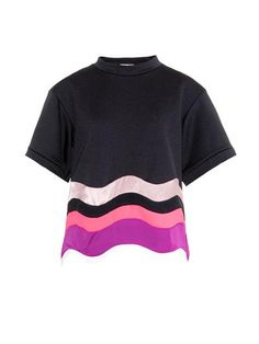 Kelly colour-block wave top | Issa | MATCHESFASHION.COM
