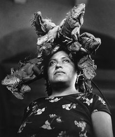Graciela Iturbide (born 1942 in Mexico City)  Our Lady of the Iguanas