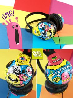 Electronic Headphones by =Bobsmade