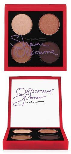 Sharon Osbourne for M·A·C 'Duchess' Eyeshadow Palette (Limited Edition) Mac Makeup, Love Makeup, Skin Makeup, Makeup Eyeshadow, Mac Cosmetics Eyeshadow, Eyeshadow Palette, All Things Beauty, Beauty Make Up, Bronze Eye Makeup