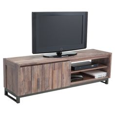 Sunpan Porto Solid Walnut Audio/ Video Stand - Overstock™ Shopping - Great Deals on Sunpan Entertainment Centers