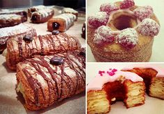 ACME Hotel Company in Chicago are creating their own takes on the Cronut craze. #Foodie #Chicago #Cronut