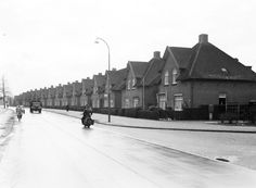 De Larenseweg in Hilversum in de jaren '50