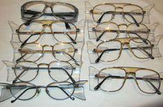 Restposten: 11 Arbeitsschutz-Korrektionsbrillenfassungen mit Seitenschutz
