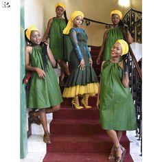 Shweshwe fashion designer Dresses of South Africa 2018 - Reny styles
