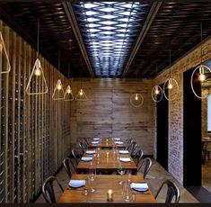 Tessa NYC by Bates Masi Architects / Restaurant Private Dining Bistro Bar, Hotel Reception, Residential Architect, Fire Escape, Modern Architects, Interior Design Magazine, Bar Lounge, Elements Of Design, Restaurant Design