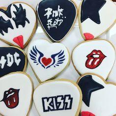 Rock n Roll - KISS cookies 2017