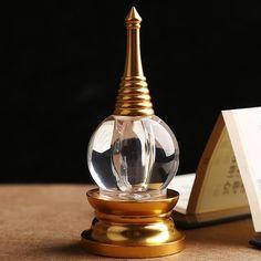 Buddha Tibet Tibetan Spirit Healing Buddhist Mikky Crystal Stupa Tower Nectar Sarira
