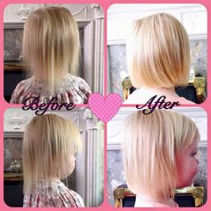 Feedback from one of my teammates  'The difference in my 3 year old daughters hair from using Aloe Jojoba Shampoo and Conditioner and Aloe First followed by a good trim.  Evie's hair was so thin and uneven. The products really helped thicken it up and grow faster, a trim ensured it was a lol level to grow evenly. So happy with the results after 2 months use ' The results are amazing!!! #foreveraloeglow #foreverliving #aloevera  #natural www.foreveraloeglow.myforever.biz
