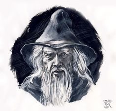 Gandalf by Catherine Karina Chmiel