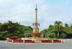 DeSoto Fountain in Coral Gables, FLA