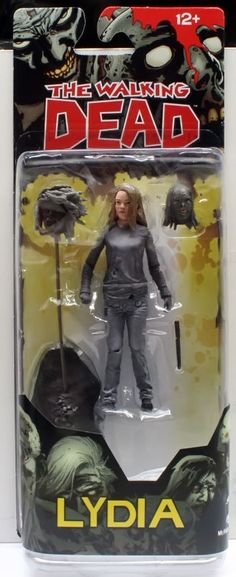 THE WALKING DEAD COMIC SERIES 5 - LYDIA ACTION FIGURE - NEW & IN STOCK! #McFarlaneToys