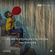 Let's celebrate the spirit of being young on this Children's Day Happy Children's Day. Happy Children's Day, National Days, Child Day, Nature Decor, Lets Celebrate, Paper Decorations, Spirit, Celebrities, Celebs