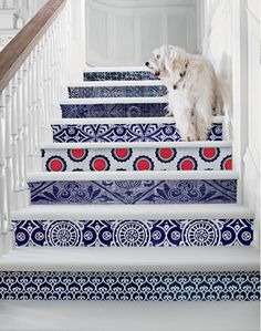 Tiled Stairs  For more check out ---> http://www.artisticscrapdesigns.com