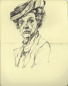 The Dowager Countess of Grantham (with a slightly messed up right eye) | Flickr - Photo Sharing!