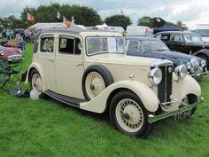 Daimler 15 Light Mulliner Sports Saloon,  1935 at Sherborne Castle classic car show