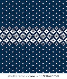 Similar Images, Stock Photos & Vectors of Christmas Sweater Design. Intarsia Patterns, Fair Isle Knitting Patterns, Knitting Charts, Knitting Stitches, Stitch Patterns, Knitting Socks, Card Patterns, Fabric Patterns, Crochet Patterns