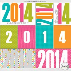 2014 Project Life Filler Card freebie :)