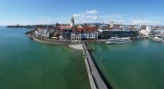 Uferpromenade Friedrichshafen (walk along Lake Constance) - Germany