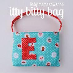 Toddler purse / little girl purse / Riley Blake by babymamasewshop # ...