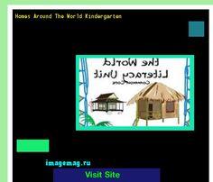 Homes Around The World Kindergarten 103351 - The Best Image Search