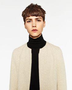 FLECKED FROCK COAT from Zara