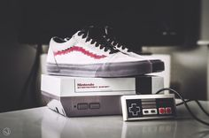Nintendo x Vans Old Skool Console (by iconicksoles) Vans Old Skool Custom 82cd8af9c4