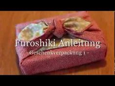 Video Anleitung für die Buch-Geschenkverpackung Burlap, Zero, Reusable Tote Bags, Gift Wrapping, Youtube, Diy, Gifts, Good Ideas, Wrapping Gifts