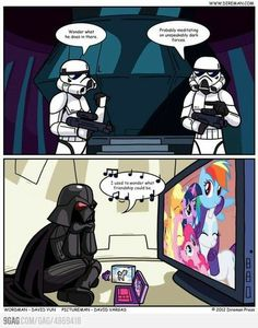 star wars my little pony | Star Wars meets My Little Pony / geeking - Juxtapost