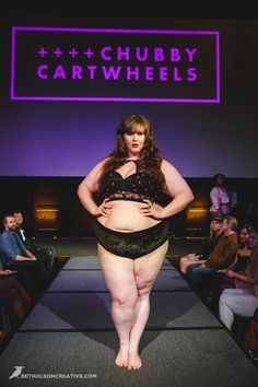 Indie Plus Size Designers, Copper Union and Chubby Cartwheels made a statement with their plus size lingerie at the Unmentionable: A Lingerie Exposition!