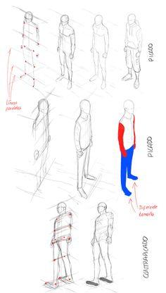 Dibujando en perspectiva (2): El cuerpo   Concurso Manga