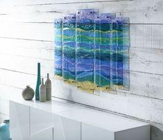 Panneaux comme oeuvres d'art Beautiful glass fusing art