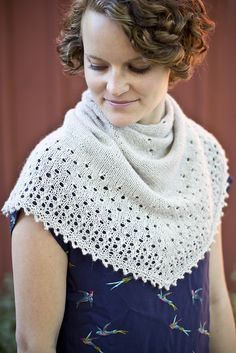 Dew is a top-down shawl that features a unique design that is versatile and easy to wear. The shawl begins with a predominantly stockinette body and transitions to a sweet eyelet lace and finishes with a simple and elegant picot edge. Silk Socks, Universal Yarn, Christmas Knitting Patterns, Dress Gloves, Paintbox Yarn, Yarn Brands, Red Heart Yarn, Arm Knitting, Shawl