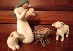 Nativity Manger - Handcrafted With Sticks And Twigs. **Willow Tree Compatible** in Collectibles, Decorative Collectibles, Decorative Collectible Brands | eBay