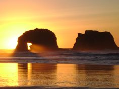 Twin Rocks  Rockaway Beach Oregon I would have to say that this is my favorite place to visit! I find peace at the Oregon Coast....