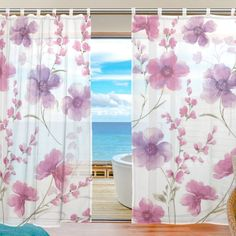 Plum Blossom Pattern Gauze Shade Polyester Materials Applicable To/Bedroom/Living Room/Cafe/Public Occasions -- Awesome products selected by Anna Churchill