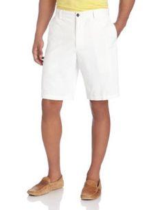 Dockers Men's Perfect Short D3 Classic Fit Flat Front at Amazon Men's Clothing store: Khaki Shorts