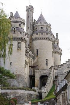Visite du château de Pierrefonds