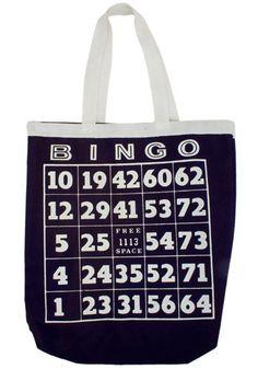 The Vintage Bingo Bag
