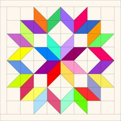 Red Letter Quilts: Scrappy Carpenter's Wheel Quilt Block Tutorial ~ This could easily be adapted for mini charms! Or change the proportions with charm packs or layer cakes! Barn Quilt Designs, Barn Quilt Patterns, Pattern Blocks, Quilting Designs, Canvas Patterns, Amische Quilts, Mini Quilts, Big Block Quilts, Sampler Quilts