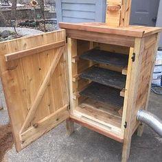 Build A Smoker, Diy Smoker, Homemade Smoker, Backyard Smokers, Outdoor Smoker, Backyard Bar, Smoke House Plans, Smoke House Diy, Custom Bbq Smokers
