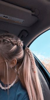 2019 Lindos Peinados con Trenzas – Fácil Paso a Paso 2019 Cute Hairstyles with Braids – Easy Step by Step More from my site Cute Little Girl Hairstyles Easy Medium Hair Styles, Curly Hair Styles, Hair Medium, Hair Plait Styles, Medium Long, Braided Ponytail Hairstyles, Prom Hairstyles, Cute School Hairstyles, Volleyball Hairstyles