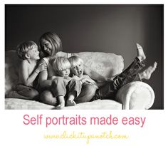 Self portraits made easy by Lacey Meyers. http://clickitupanotch.com/2012/12/self-portrait-made-easy/